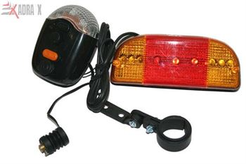 Picture of Bicycle Indicator with Horn and Light