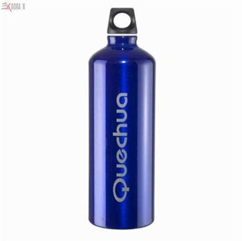 Picture of 1 L Aluminium Bottle Blue for Hikers and Sports