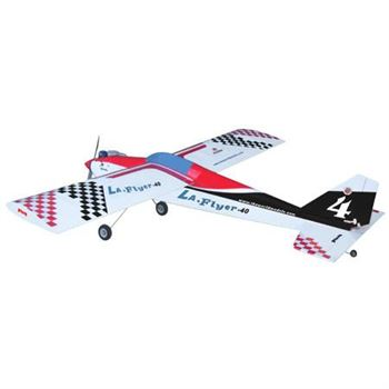 Picture of TWM LA Flyer Balsawood Rc Airplane Kit For Nitro Power
