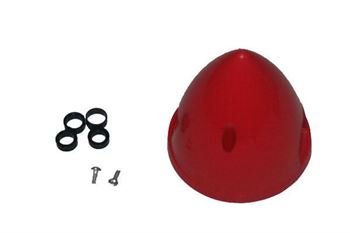"""Picture of Plastic spinner 2.5"""" (64mm) - Red"""