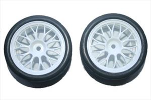 Picture of 1/10 Auto-x/Y-White spoke Tyres