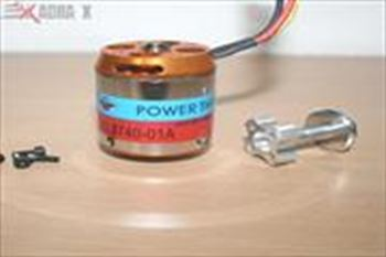 Picture of 3740 BL motor/750KV, with Accessories