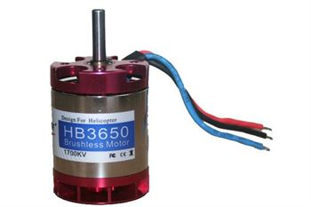 Picture of BL Motor (500 heli) 3650/1700KV with Cooling
