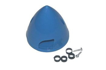 """Picture of Plastic Spinner 2"""" (51mm) - Blue"""