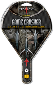 Picture of Game Crusher Crossbow Broadhead-100 set of 3