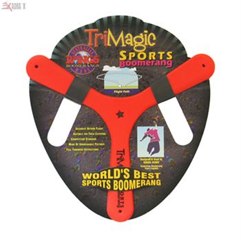 Picture of Tri Magic Polymer Easy Throw Boomerang For Kids 8 Years And Above