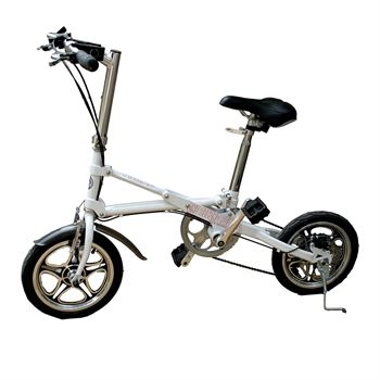 Picture of AdraXx Super Folding Bike For City And Vacations With 7 Speed Gears (White)