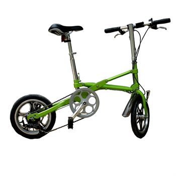 Picture of AdraXx Super Folding Bike For City And Vacations With 7 Speed Gears (Green)