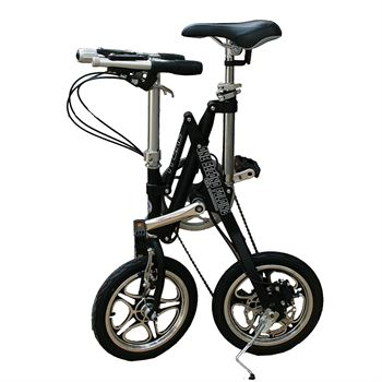 Picture of AdraXx Super Folding Bike For City And Vacations With 7 Speed Gears (Black)