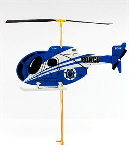 Picture of Guilows Rubber Powered Blue Foam Helicopter Model