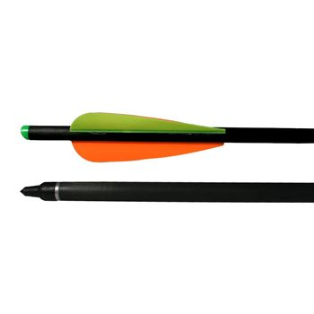 "Picture of AdraXx 20"" Carbon Fibre Arrow With 300 Spine For Heavy Crossbows (Set of 3)"