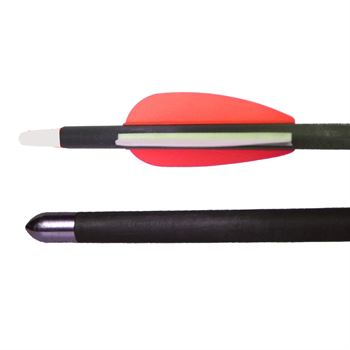 "Picture of AdraXx 32"" Carbon Fibre Arrow With 400 Spine For 45-65 LBs Recurve Bow (Set of 3)"