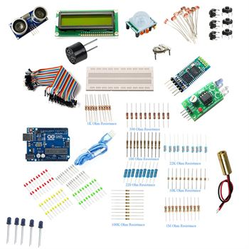 Picture of Adraxx Electronic Component Project Kit