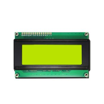 Picture of 20x4 Line LCD Display With Yellow back light HD44780