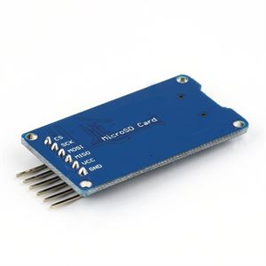Picture of Micro SD TF Card Memory Shield Module SPI Micro SD Storage Expansion Board For Arduino