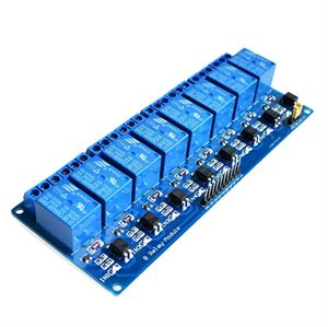 Picture of 5V 8 Channel Relay Module Optocoupler Board