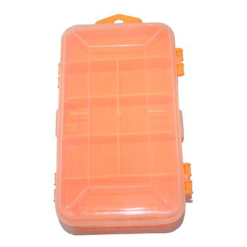 Picture of Double Toolbox Electronic Plastic Parts, Screw, Fishing Component Storage Tool Box