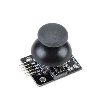 Picture of Dual Axis XY Joystick Biaxial button PS2 sensor module joy stick For Ardunio