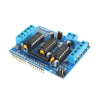 Picture of L293D Arduino Motor Driver Shield for Servo, Stepper & DC Motor Expansion Board