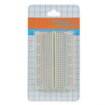 Picture of Adraxx Solderless Breadboard with 400 Tie-Point (White)