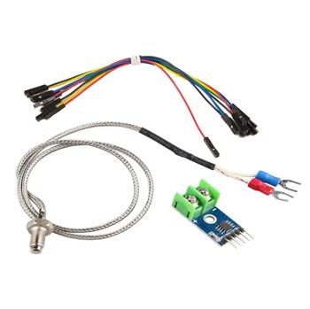 Picture of Adraxx MAX6675 Module and K Type Thermocouple Sensor for Arduino