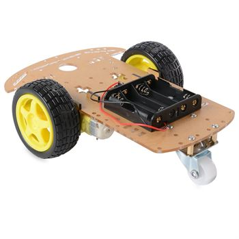 Picture of Adraxx New Smart Motor Robot Car Battery Box Chassis Kit DIY Speed Encoder For Arduino